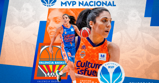 Cristina Ouviña MVP Nacional