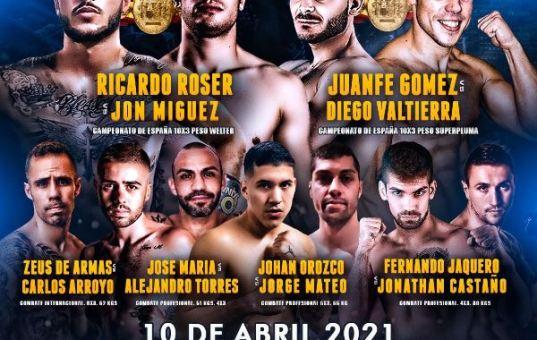 Cto España Boxeo