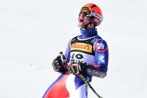 Albert Ortega - Mundial alpino Cortina