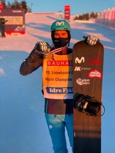 Lucas Eguibar - Mundial SBX Idre Fjäll