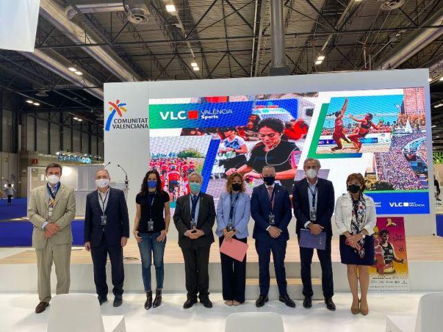 Plaza Central Comunitat Valenciana Fitur 2021