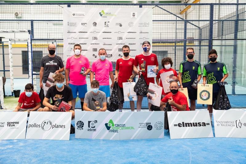 Finalistas del torneo