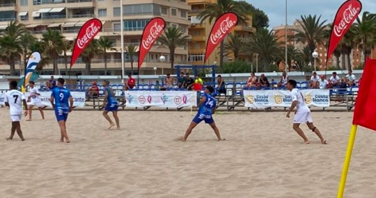 Futbol Playa Diputacion Alicante