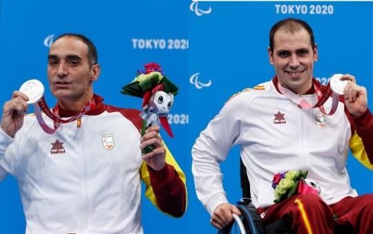Miguel Luque y Toni Ponce
