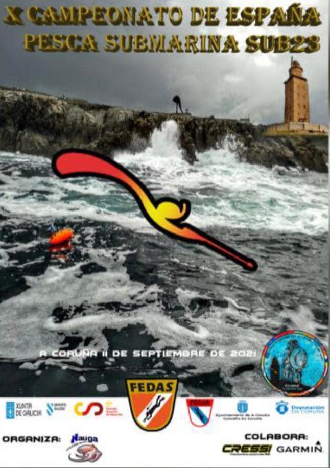 Cto España pesca submarina Sub-23