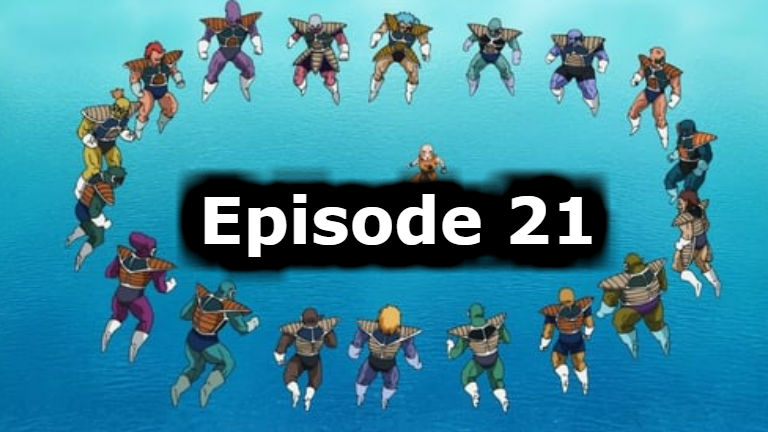 Dragon Ball Super Episode 21 English Dubbed