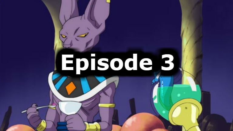 Dragon Ball Super Episode 3 English Dubbed
