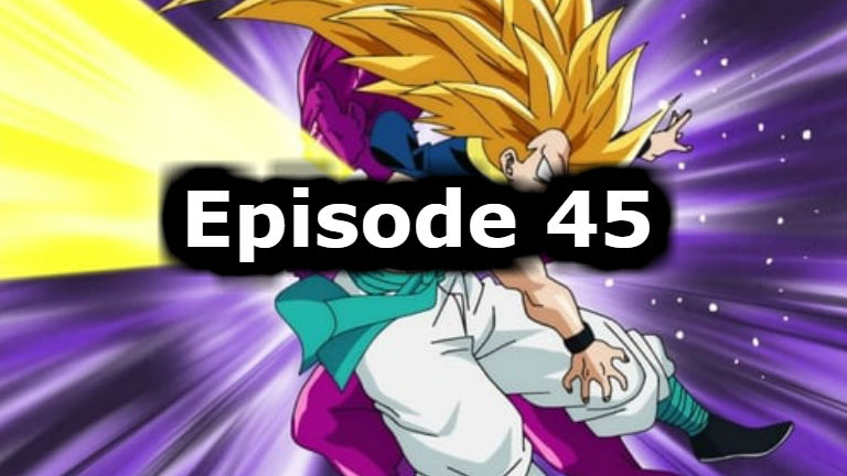 Dragon Ball Super Episode 45 English Dubbed Watch Online