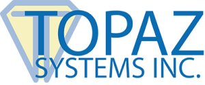 Topaz Systems, Inc. is a global leader in electronic signature pads, solutions, and software. Founded in 1995, Topaz provides electronic signature pads and software tools to enable the creation, signing, and authentication of electronic documents with digital handwritten signatures. Topaz has received numerous industry awards and holds more than ten patents in the field of electronic signature hardware and software.