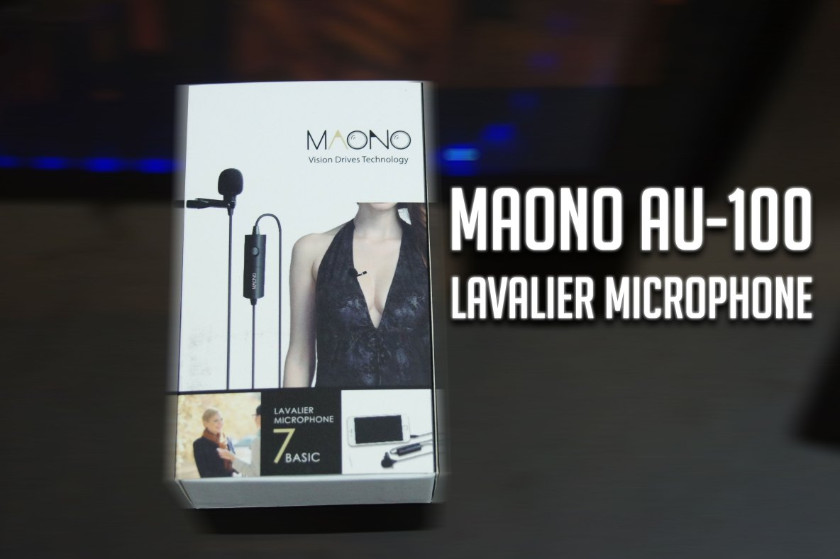 MAONO AU-100 Lavalier Microphone