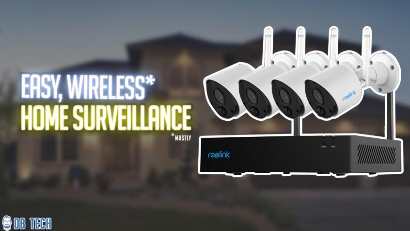 Reolink Home Sureveillance Camera System
