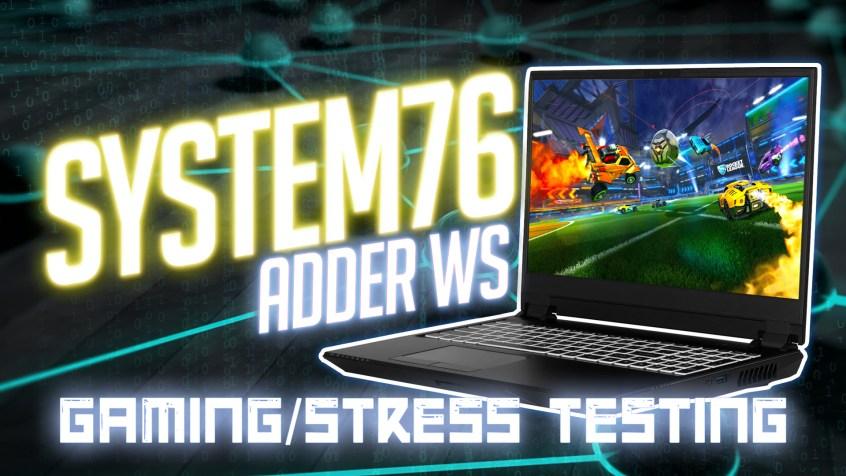 Gaming on Adder WS