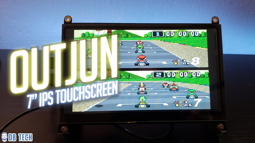 "7"" IPS Touchscreen for Raspberry Pi"