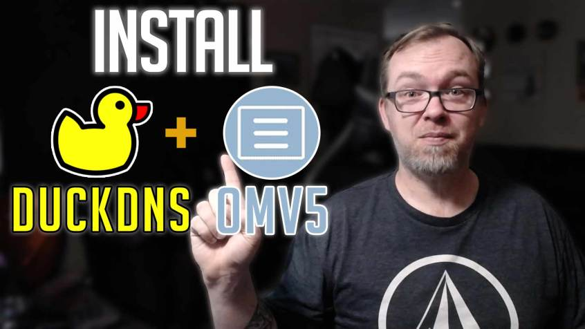How to Install DuckDNS on OpenMediaVault5
