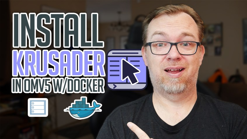 How to Install Krusader on OMV and Docker