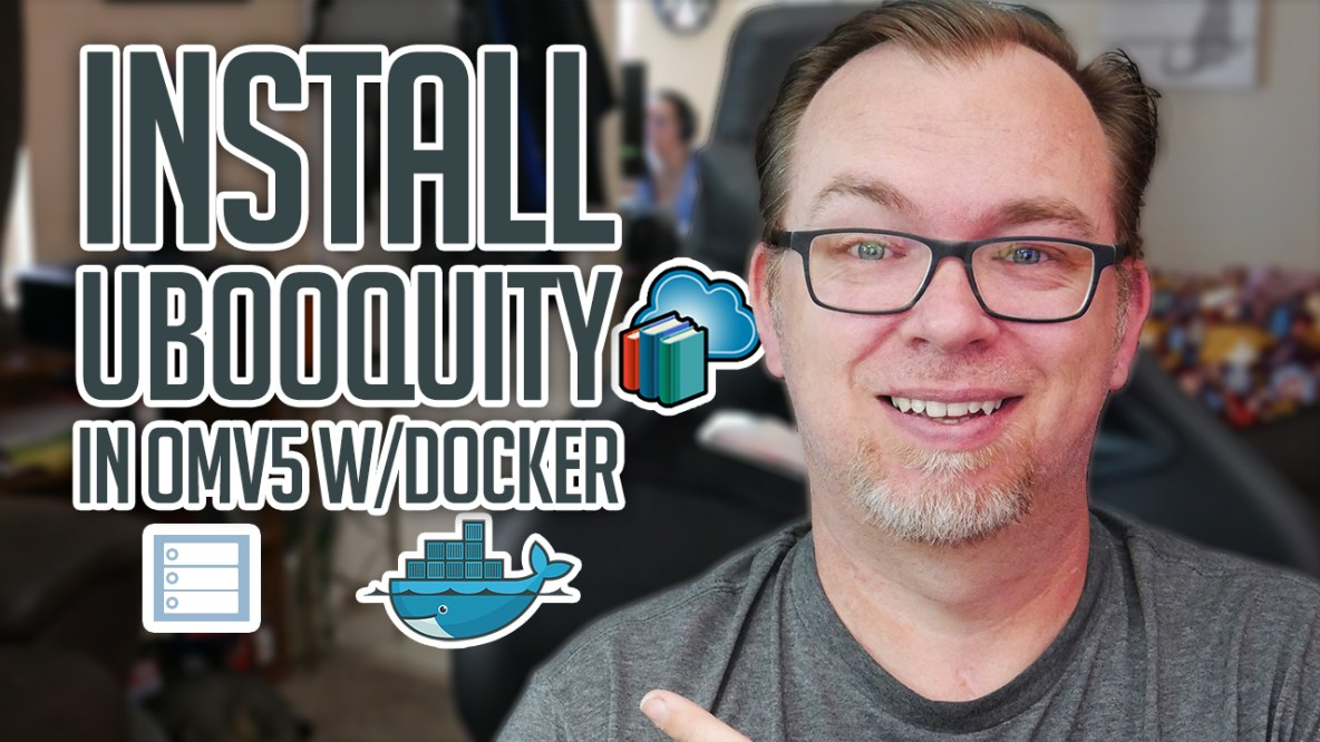 How to Install Ubooquity on OMV and Docker