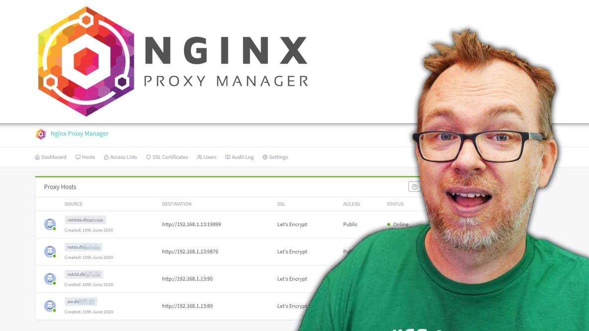 Install NGINX Proxy Manager in OMV and Docker