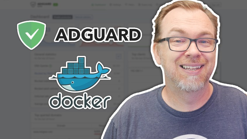 Adguard Home Installed on Docker