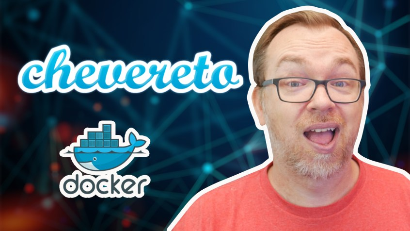 Chevereto Installed on Docker