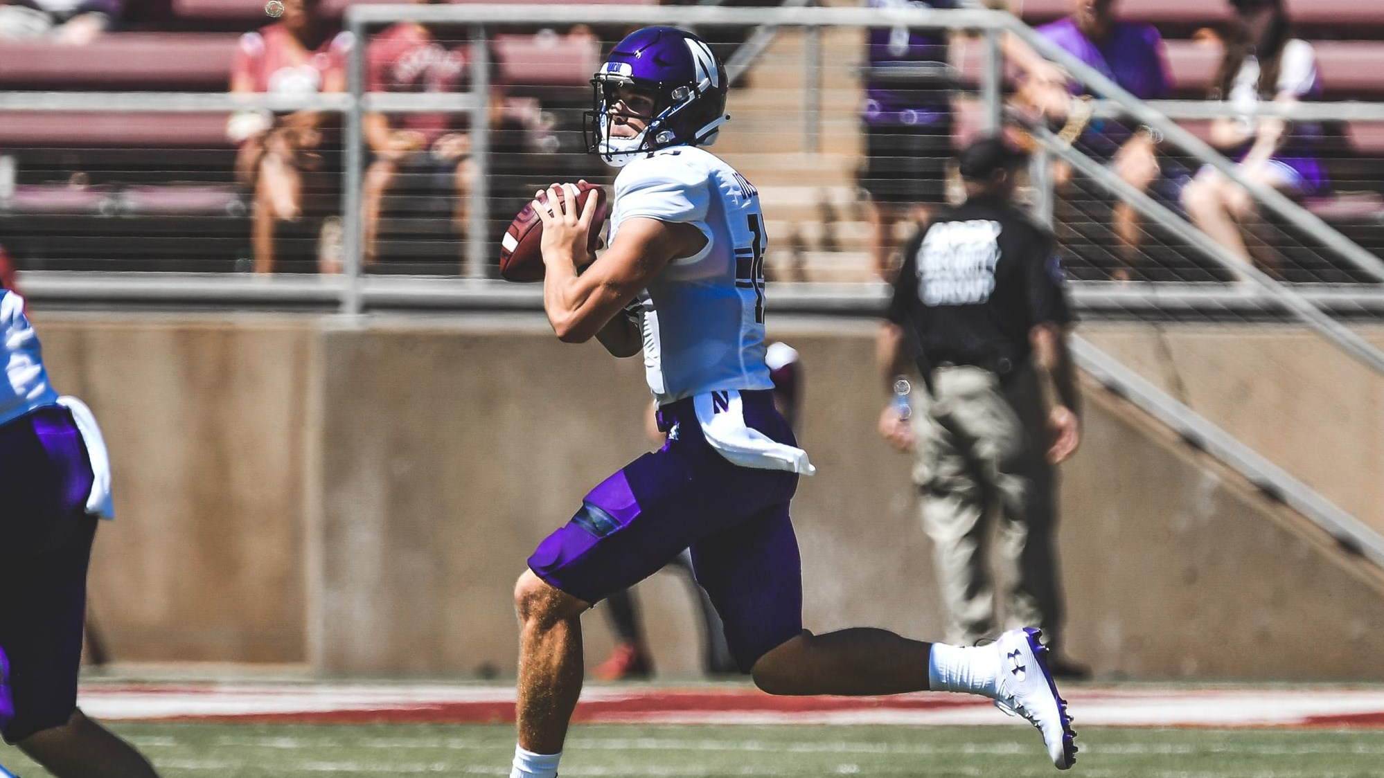 Image result for hunter johnson northwestern football