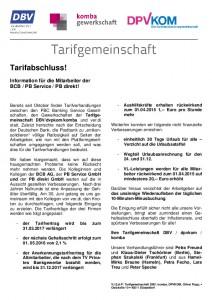 thumbnail of Tarifinfo 7 Plattform 2015 BCB PB Service PB Direkt neu