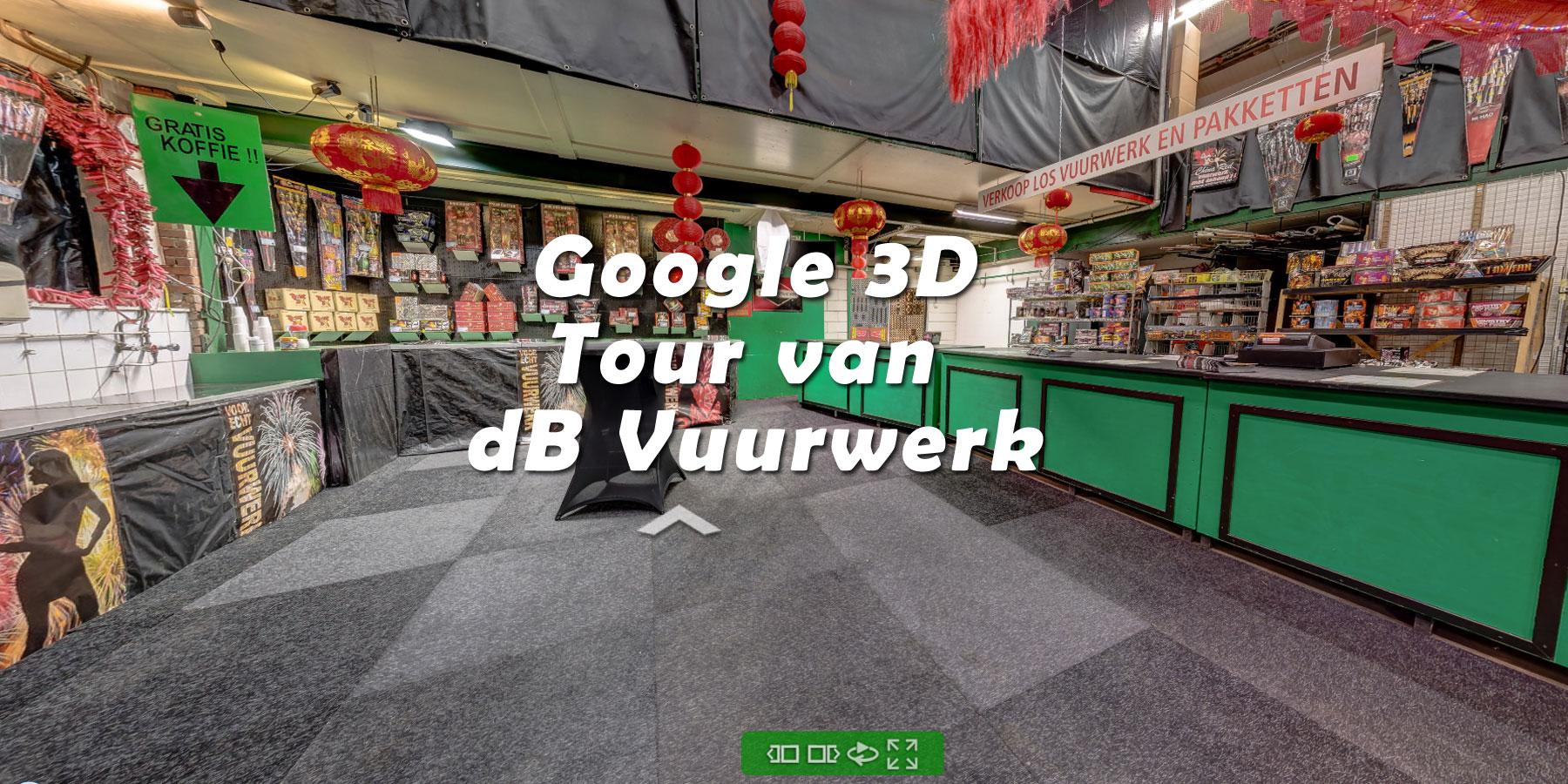 Google 3d-tour dB Vuurwerk