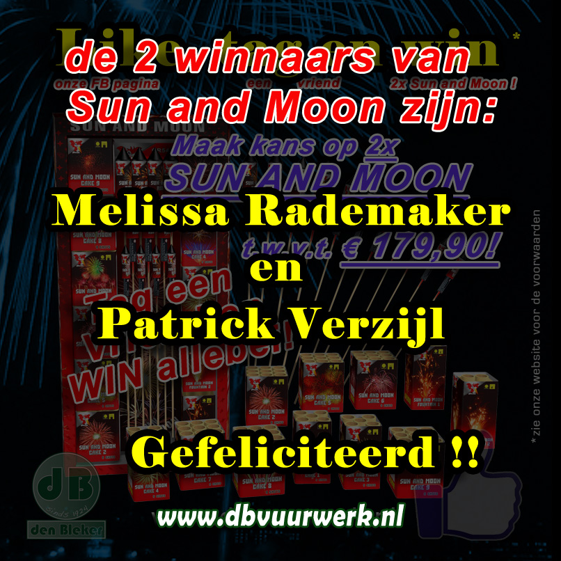 Winnaars Sun and Moon