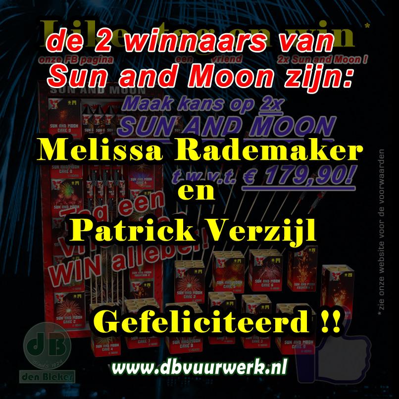 Winnaars Sun and Moon