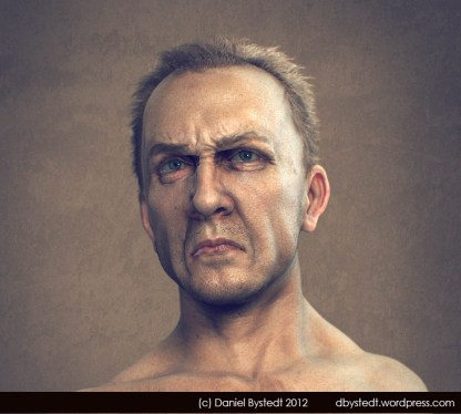 angry man front render highres