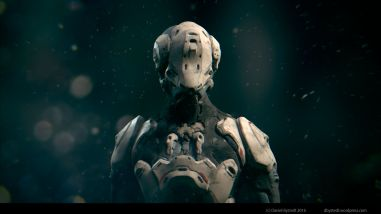 Robot concept by Daniel Bystedt. Zbrush, substance painter and blender