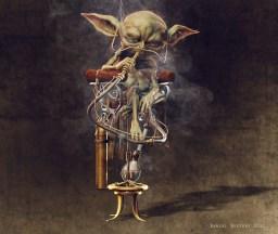 yoda smoking render 2