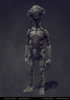 sci-fi character for Zbrush workshops