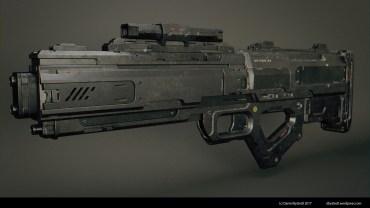 sci-fi rifle 001
