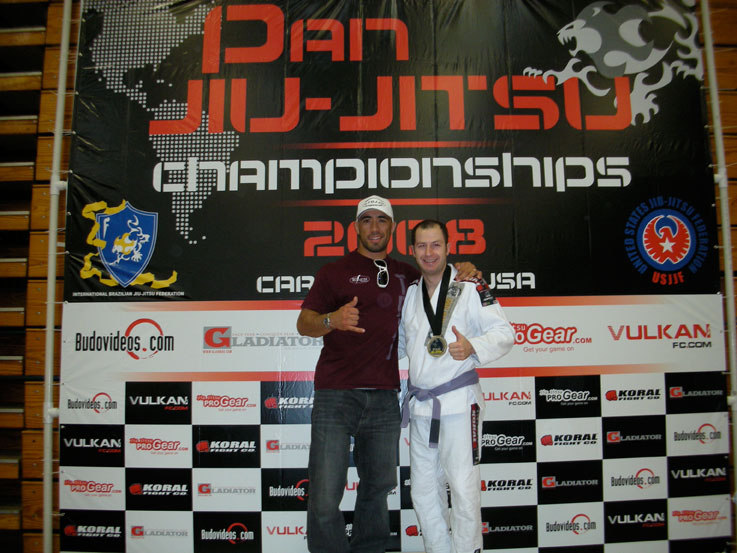 Dimitri Chrisos and Demetrius Ramos at Pan Ams 2008