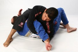 Photo: BJJ submission demonstration