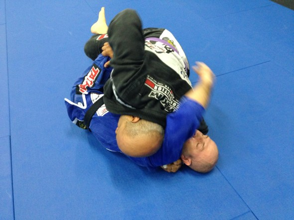 Dion doing what he loves the most...putting pressure on his instructor!