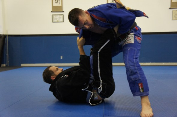 Paul and Ryan...open mat time