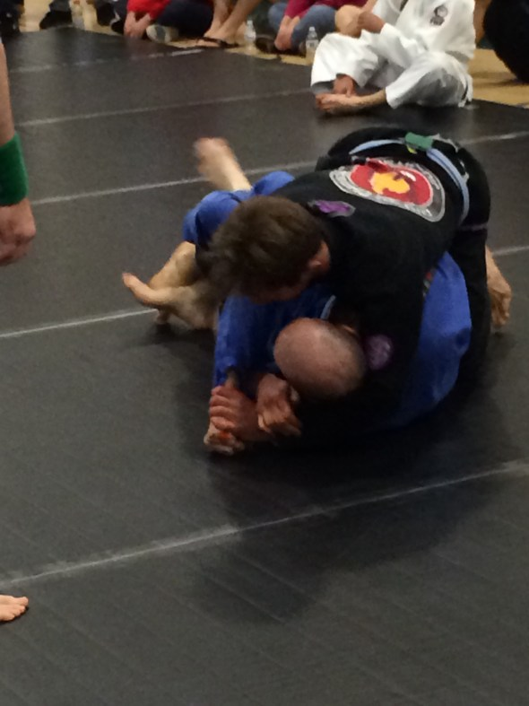 Nick submitting one of his opponents