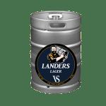 Victor Samuels Landers Lager - 30L Keg