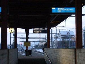 Viel weiter vorne im Alphabet geht fast nicht. Okay, Aachen wäre noch bekannt.