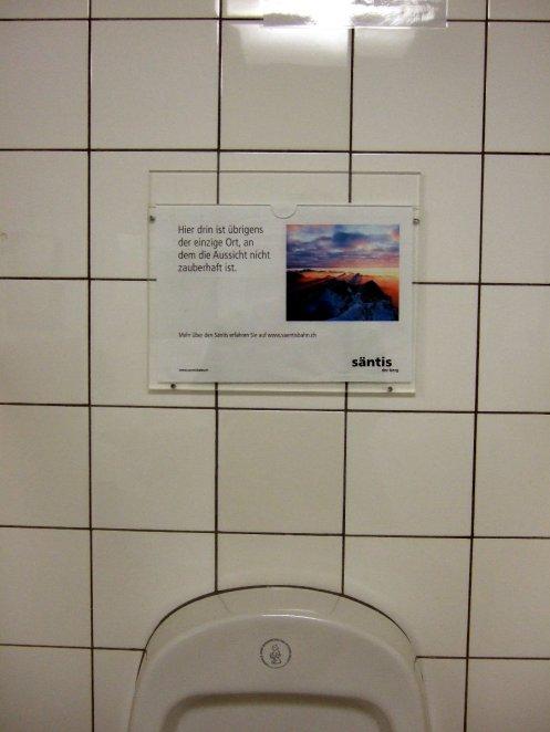 Toilettenhumor.