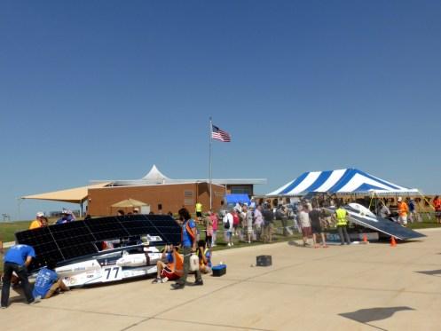Checkpoint in Beatrice, Nebraska.