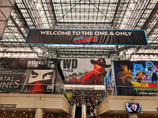 Entrance to NYCC