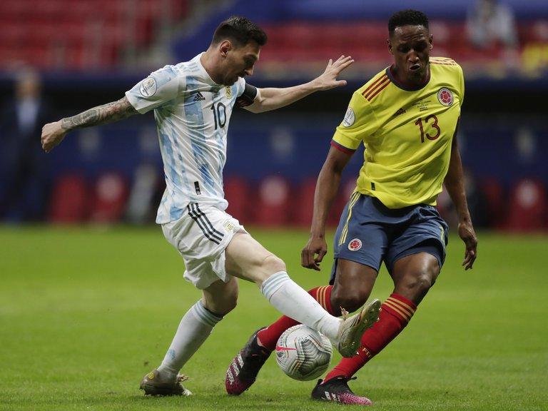 Yerry Mina habló por primera vez sobre su cruce con Lionel Messi en la Copa América