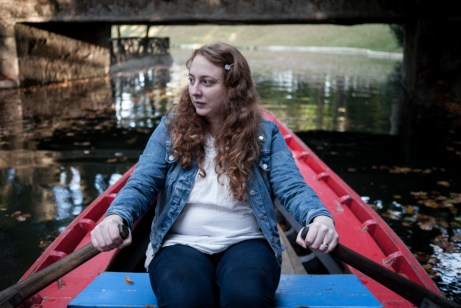 Siobhan on the Boating Lake, Bom Jesus do Monte, Braga, Portugal