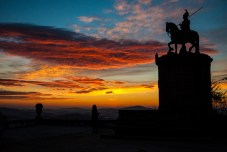 Sunset at Bom Jesus do Monte, Braga, Portugal