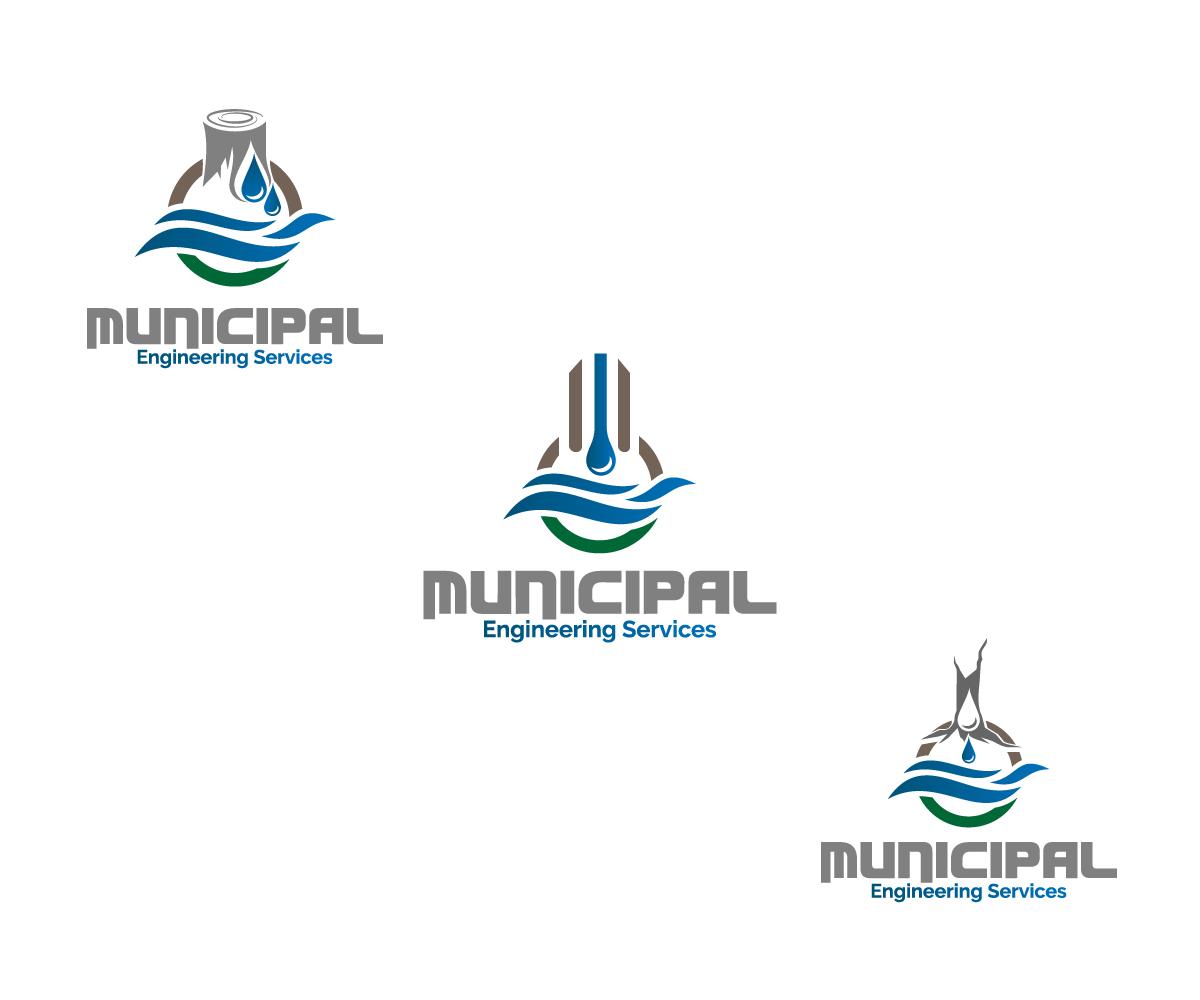 Bold Serious Marketing Logo Design For Municipal