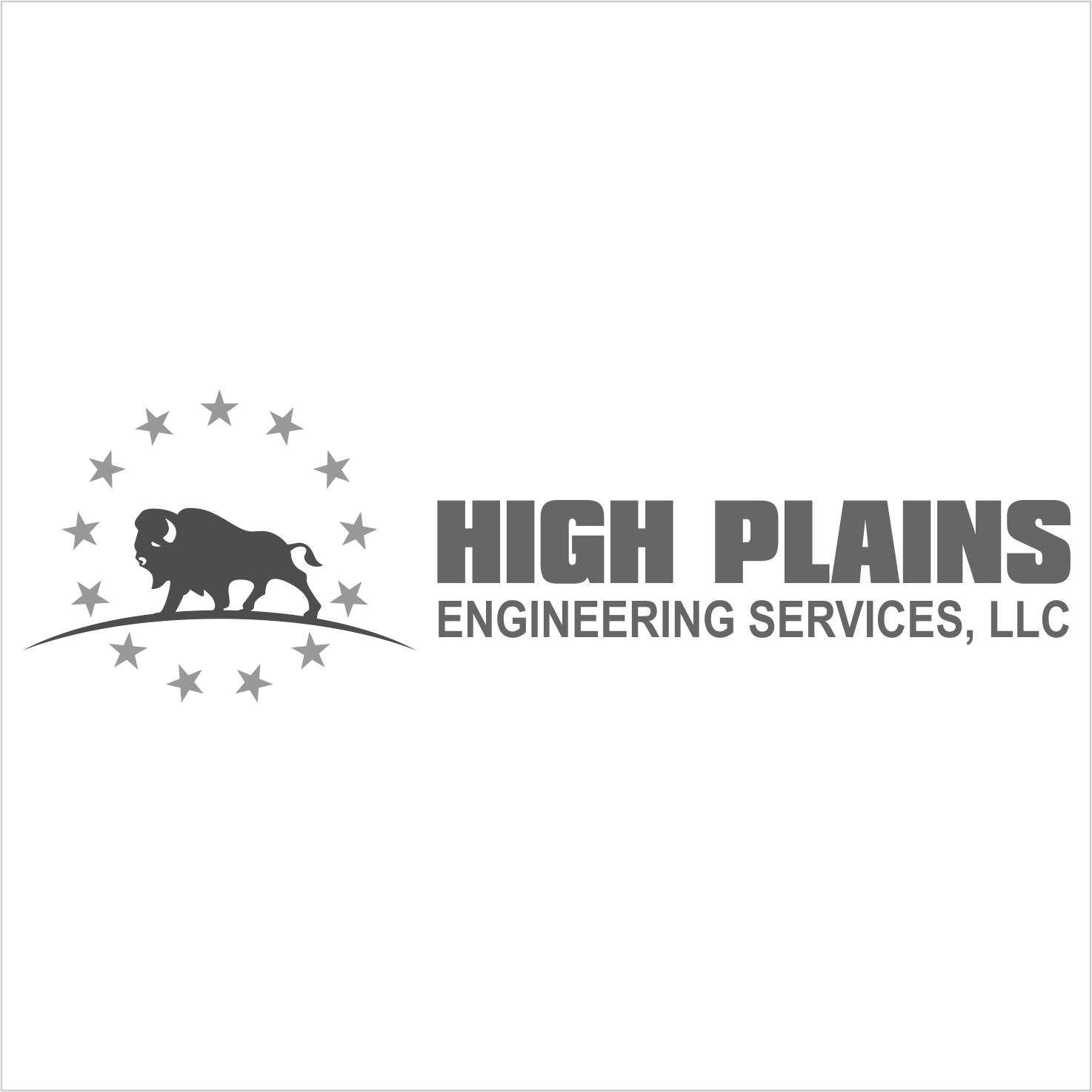 Serious Masculine Engineering Logo Design For High
