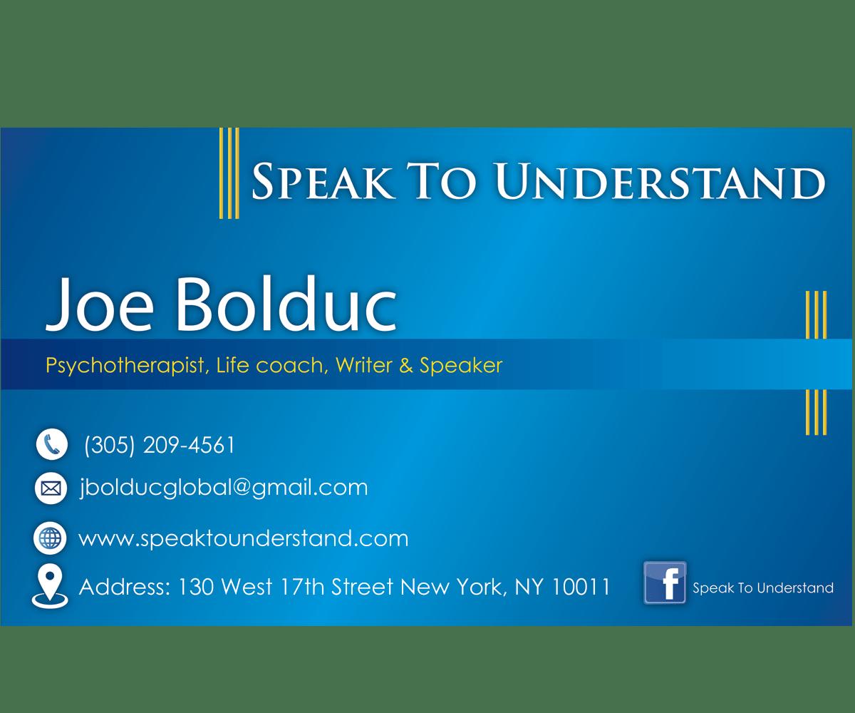 Motivational speaker business cards colourmoves