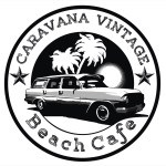 Bold Serious Cafe Logo Design For Caravan Vintage Beach Cafe By Antonatanasov Design 6361240